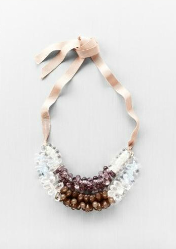 Crochet Ribbon Necklace Pattern - Kitchen Table Forum - GardenWeb