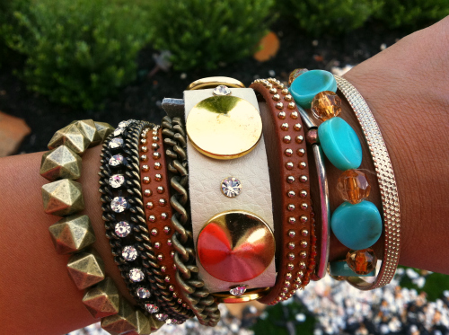 bauble bar wrap, arm party