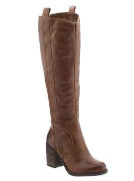 brown boots, cognac boots