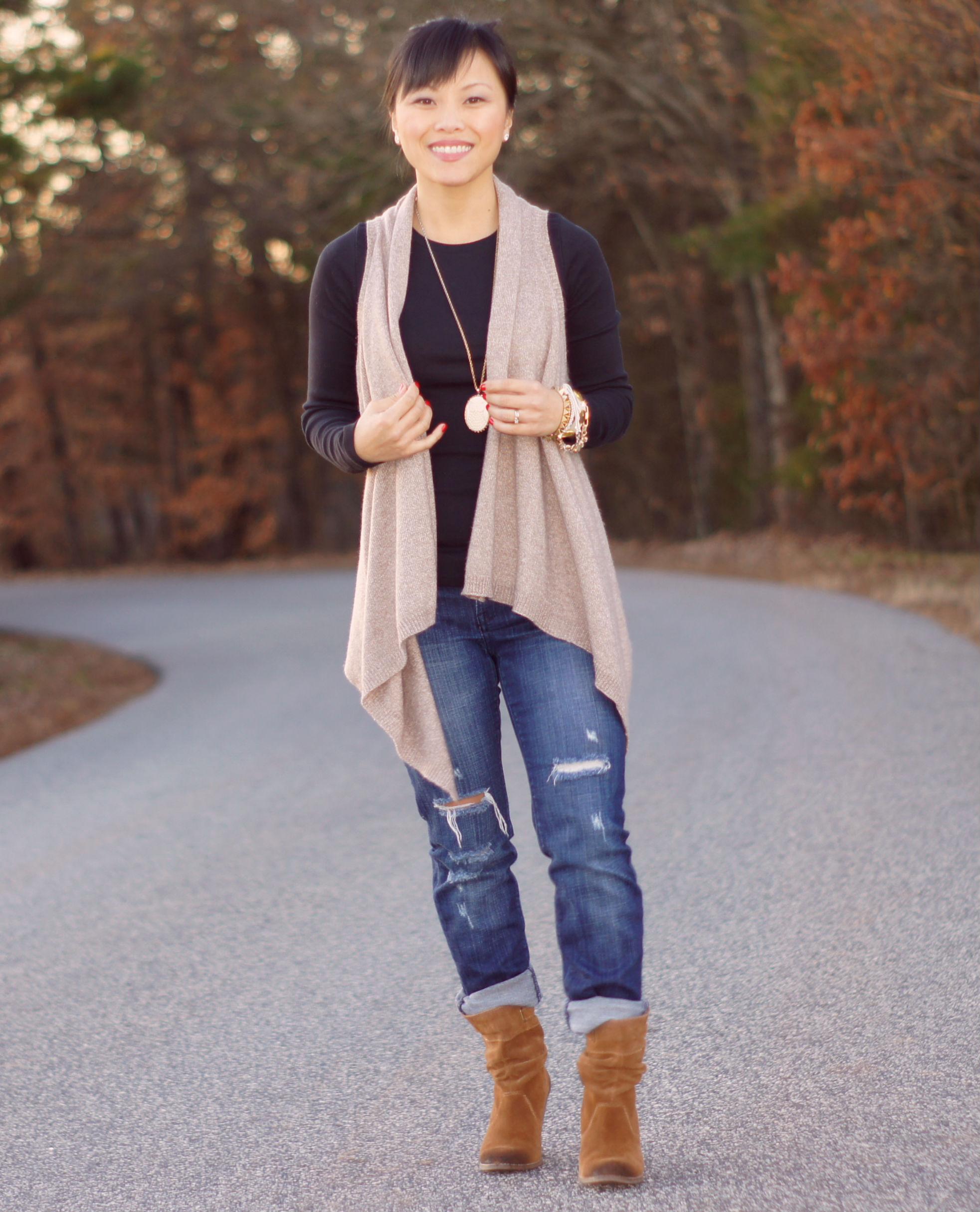 How I Wear: Sweater Vest | My Dressy Ways