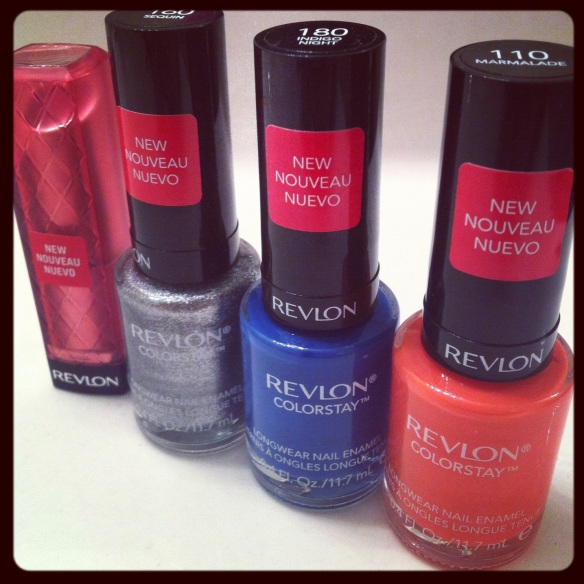 Revlon Lip Butter, Raspberry Pie, Revlon Colorstay nail Polish