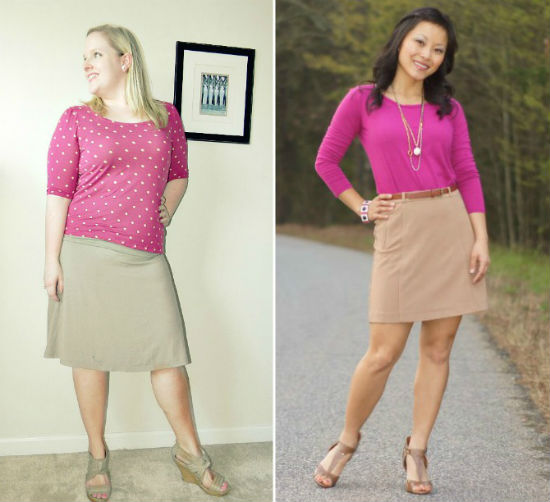 What To Wear With A Pink Skirt 20